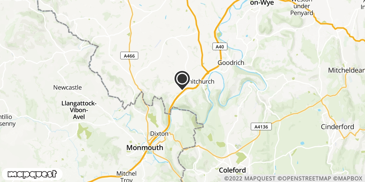local map of watch repair drop off points in Talybont, Conwy | Repairs by Post