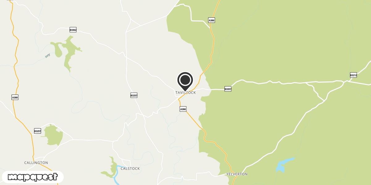 local map of watch repair drop off points in Tavistock, Devon | Repairs by Post