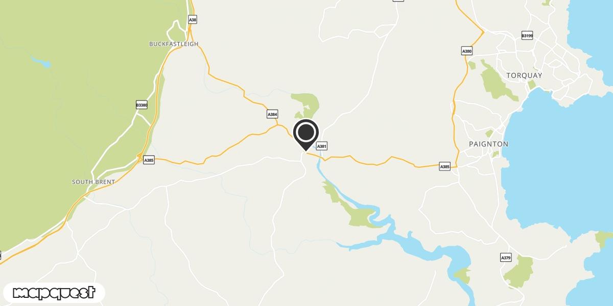 local map of watch repair drop off points in Totnes, Devon | Repairs by Post