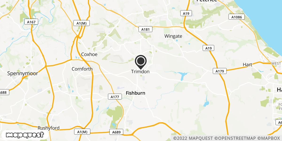 local map of watch repair drop off points in Trimdon, County Durham | Repairs by Post