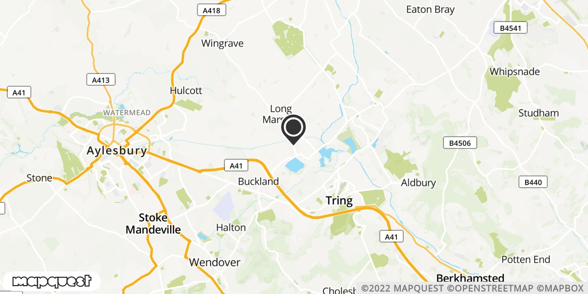 local map of watch repair drop off points in Tring, Hertfordshire | Repairs by Post