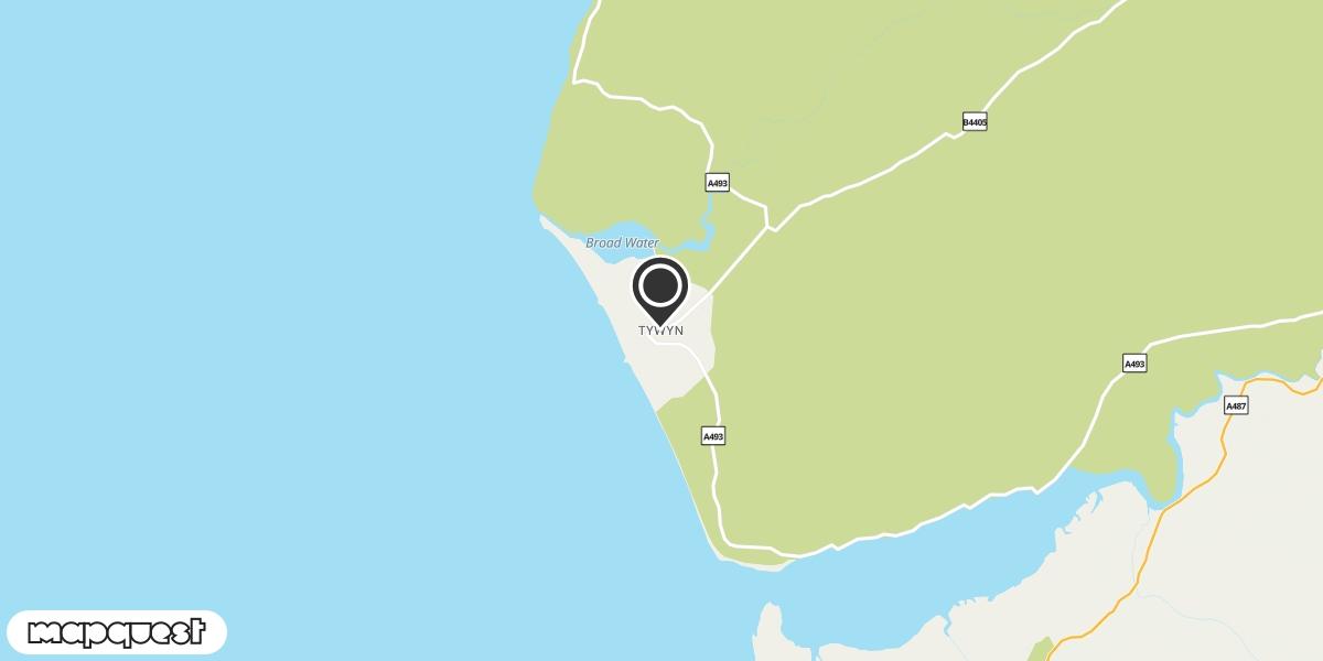 local map of watch repair drop off points in Tywyn, Gwynedd | Repairs by Post
