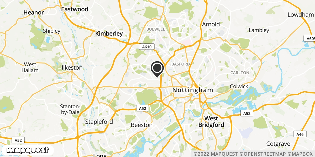 local map of watch repair drop off points in Walesby, Nottinghamshire | Repairs by Post