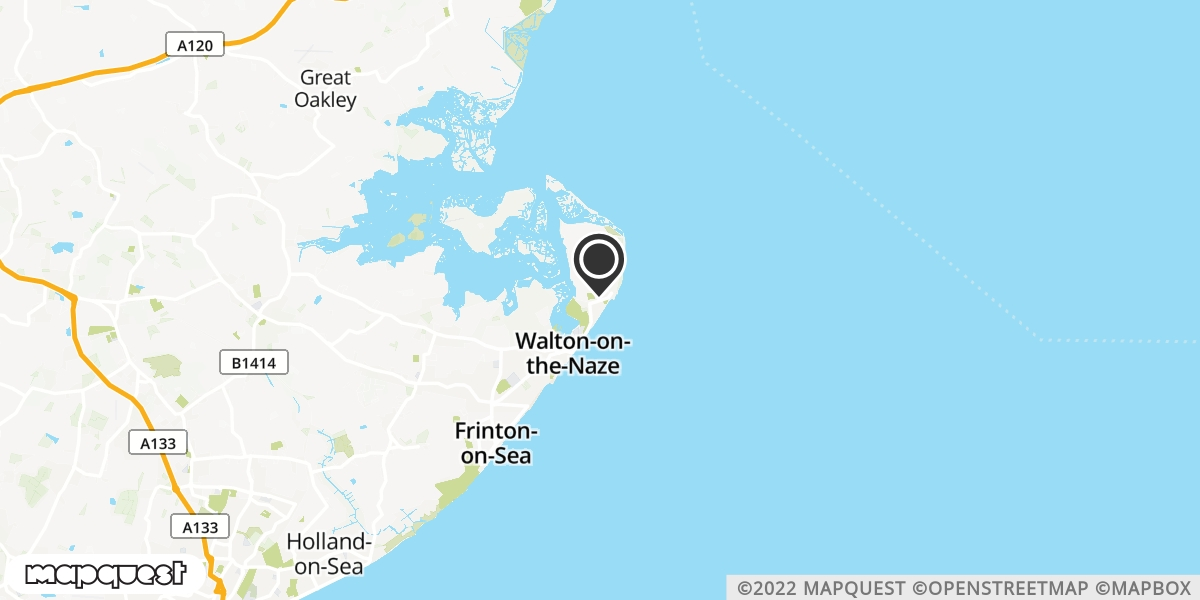 local map of watch repair drop off points in Walton on Naze, Essex | Repairs by Post