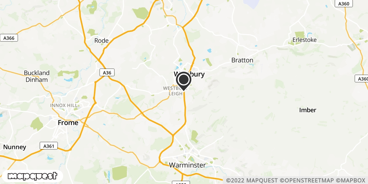 local map of watch repair drop off points in Warminster, Wiltshire | Repairs by Post