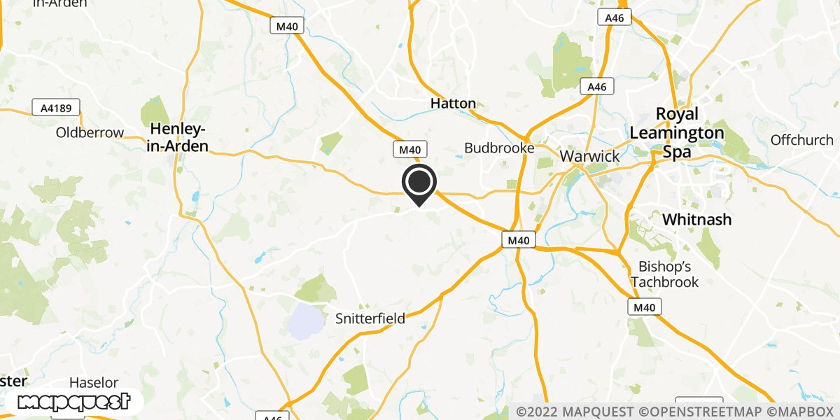 local map of watch repair drop off points in Warwick, Warwickshire | Repairs by Post