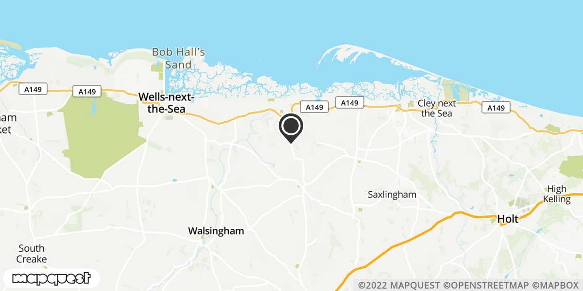 local map of watch repair drop off points in Wells-next-the-Sea, Norfolk | Repairs by Post