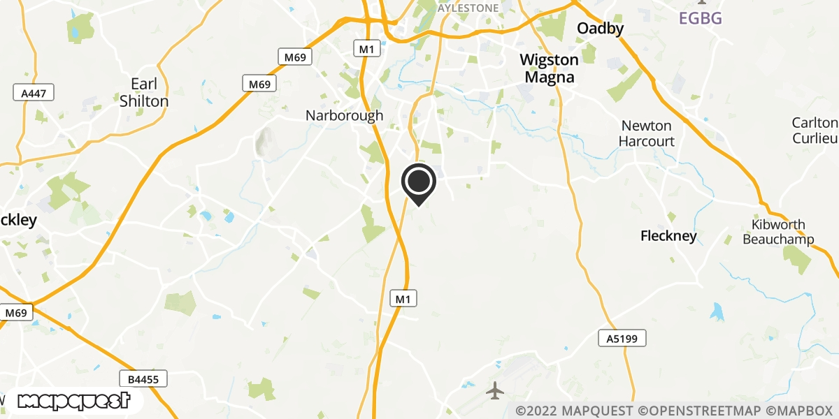 local map of watch repair drop off points in Whetstone, Leicestershire | Repairs by Post