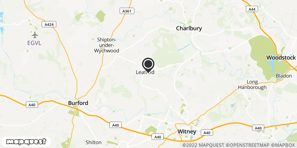 local map of watch repair drop off points in Witney, Oxfordshire | Repairs by Post