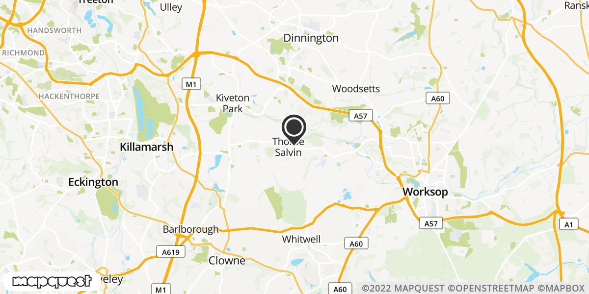 local map of watch repair drop off points in Worksop, Nottinghamshire | Repairs by Post