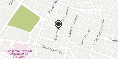 Mapa centrat en les coordenades 39.986507, -0.040248