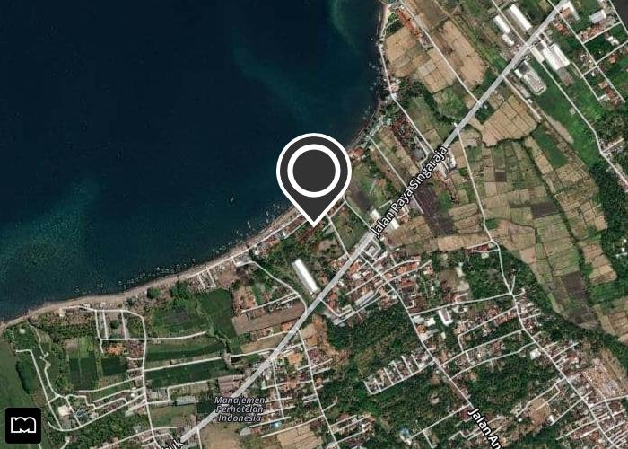 Map of Bayu Mantra Bungalows