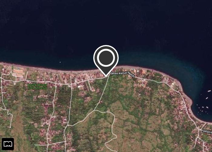 Map of Bubu Racok Homestay
