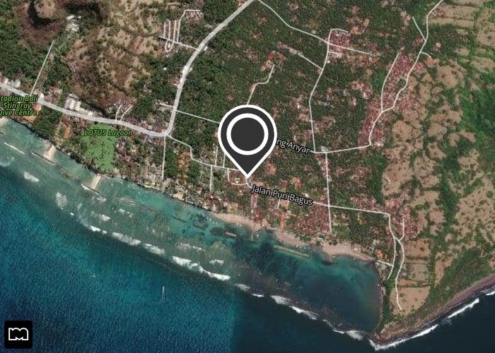 Map of Mutiara Bali